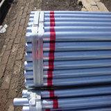 1/4 '' di mm-4 '' *mm*0.5mm-2.0mm Pre-Galvanizzato intorno al tubo d'acciaio