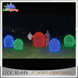 CE/RoHS 3D Motiv-Kugel der Kugel-LED mit Schneeflocke-Licht