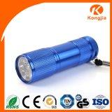 높은 명망 9 LED 좋은 품질 알루미늄 LED Keychain