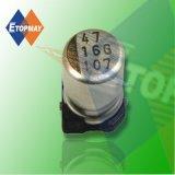 10V 100UF Condensador electrolítico de aluminio SMD estándar (TMCE24)