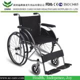 Rehabilitación Terapia Manual de acero de lujo para sillas de ruedas