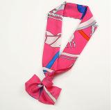 Sciarpa dentellare della saia della decorazione del legame degli accessori di seta della sciarpa