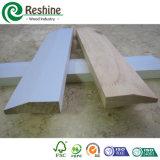 Moulage en bois amorcé blanc de décoration intérieure