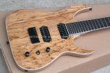 Guitare musique/7-String électrique de Hanhai avec le placage en bois putréfié