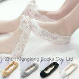 Madre del tessuto del merletto della Corea di vendita 2016 e calzini caldi di stile di Daugher