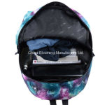 Poliéster Middle Student Double Shoulder Satchel Book School Bag Backpack