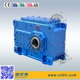 Caja de engranajes paralela helicoidal industrial del reductor de velocidad del eje de la serie de Hh