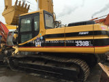 Excavatrice hydraulique utilisée de Cat330b, excavatrice de voie
