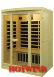 Sauna de madera portable del sitio de la sauna del infrarrojo lejano 2016 para 3 personas (SEK-I3)