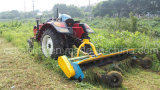 De 1800-3000mm Cutting Width Mulcher com Rear Bonnet Opened