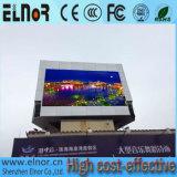 Tela ao ar livre do diodo emissor de luz do futebol do consumo P10 das baixas energias