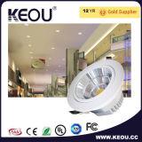 ÉPI élevé du lumen SMD2835 DEL Downlight avec le certificat de la CE