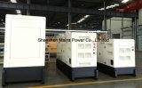 110kVA予備発電のアフリカの市場のための無声ディーゼル発電機セット