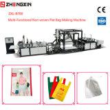Sac plat faisant le prix non tissé Zxl-B700 de tissu de machine