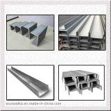 Canaleta em U de aço galvanizada do perfil do frame de aço