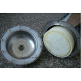 Geruch-Rostbeseitigung-Ultrafiltration-Filter-Sterilisation eigenartiges 800L/H A800