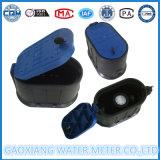 Schwarzer Plastikwasser-Messinstrument-Kasten