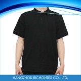 T-shirt de polo de polyester de coton d'enfants, chemise de polo, T-shirt de polo