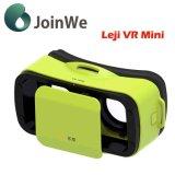 Auriculares dos vidros 3D Vr da realidade virtual da caixa de Leji Vr mini