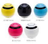 2016 Hot Sale Round Mini Bluetooth Speaker Suporte USB