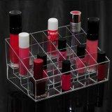 Acryllippenstift-Organisator-u. des Schönheits-Behälter-24 Platz-Speicher