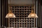Moderner freier Glasanhänger-hängende Lampen-Beleuchtung mit Edision Birne