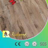 12.3mmのE1手によって擦られる寄木細工の床のビニールの板によって薄板にされる積層の木製のフロアーリング