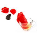 Цедильный мешок чая силикона формы языка конструкции новизны