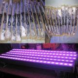 Arandela al aire libre de la pared del poder más elevado LED de DMX 24X3w RGB