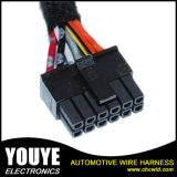Indicador de potência feito sob encomenda profissional acima e para baixo e chicote de fios do fio da fiação da aplicação da dobra para automotriz