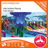 Ozean-Thema-grosser Haifisch-Innenkugel-Pool-Spielplatz-Labyrinth