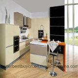 Gabinete de cozinha elevado do lustro de Covenient do projeto moderno