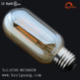T45 금 유리제 LED 필라멘트 전구