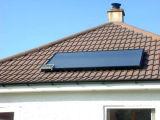 Calefator de água solar separado pressurizado elevado do painel