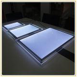 Nuova A1 casella chiara fissata al muro del cristallo LED