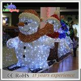 クリスマスの新年党部屋LEDのクリスマスのスノーマンの装飾ライト