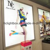 Алюминий торгового центра высокой яркости СИД рекламируя светлую коробку