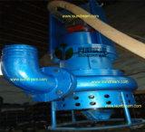 모래 자갈 모는 교반기 유압 모터를 가진 준설 슬러리 펌프