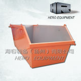 6m Outdoor Steel Skip Bin Door 없음