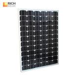 120W Monocrystalline 태양 전지판 소형 태양 모듈 단청 태양 전지