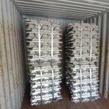 Lingot en aluminium 99.7% de qualité