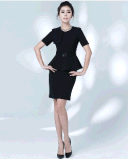 Top-Quality Elegant тонкое Fit Ladies Summer Office Business Uniform Suit (2010-D2&B18&13)