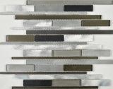 Baumaterial-Streifen Aliuminium Mosaik-Fliese für Wand-Umhüllung (FYMMC013)