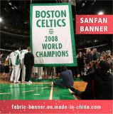 Bandierina poco costosa esterna di sport di stampa, facente pubblicità alla bandierina con il materiale della flessione