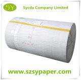 Roulis enorme de papier thermosensible de sortie d'usine dans toutes tailles