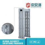 Zont waagerecht ausgerichtete hohe Sicherheit 255 Multi-Warnung beweglichen Metalldetektor mit Infrarotbackupbatterie 3D
