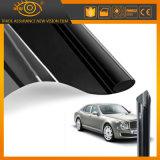 Película solar super rejeitada UV do preto escuro da proteção do carro