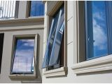 Doppelverglasung-Aluminiumflügelfenster-Fenster mit Neigung-und Drehung-Fenster