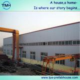 Gruppo di lavoro prefabbricato della costruzione della struttura d'acciaio