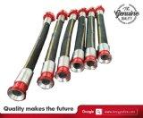 Boyaux de vibrateur de boyau renforcés par fil de perçage rotatoire de 3 pouces